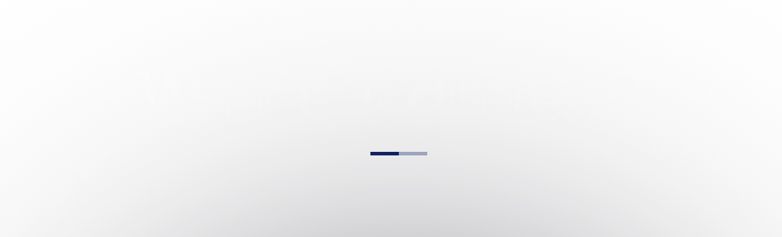 What is it different?